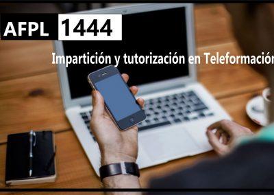 AFPL Impartición y tutorización en Teleformación