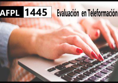 AFPL Evaluación en Teleformación