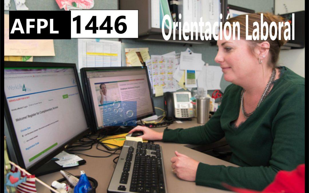AFPL 1446 Orientación Laboral